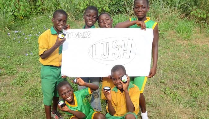 Donatie Lush Nederland