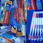 inzameling tandpasta